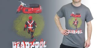 Check out the Deadpool Neo Akira Men's T-Shirt!