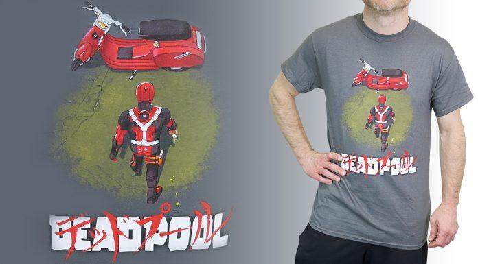 Check out the Deadpool Neo Akira Men's T-Shirt!