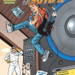 This is the variant cover of Back to the Future #1 Brent had on his table at Phoenix Comicon!