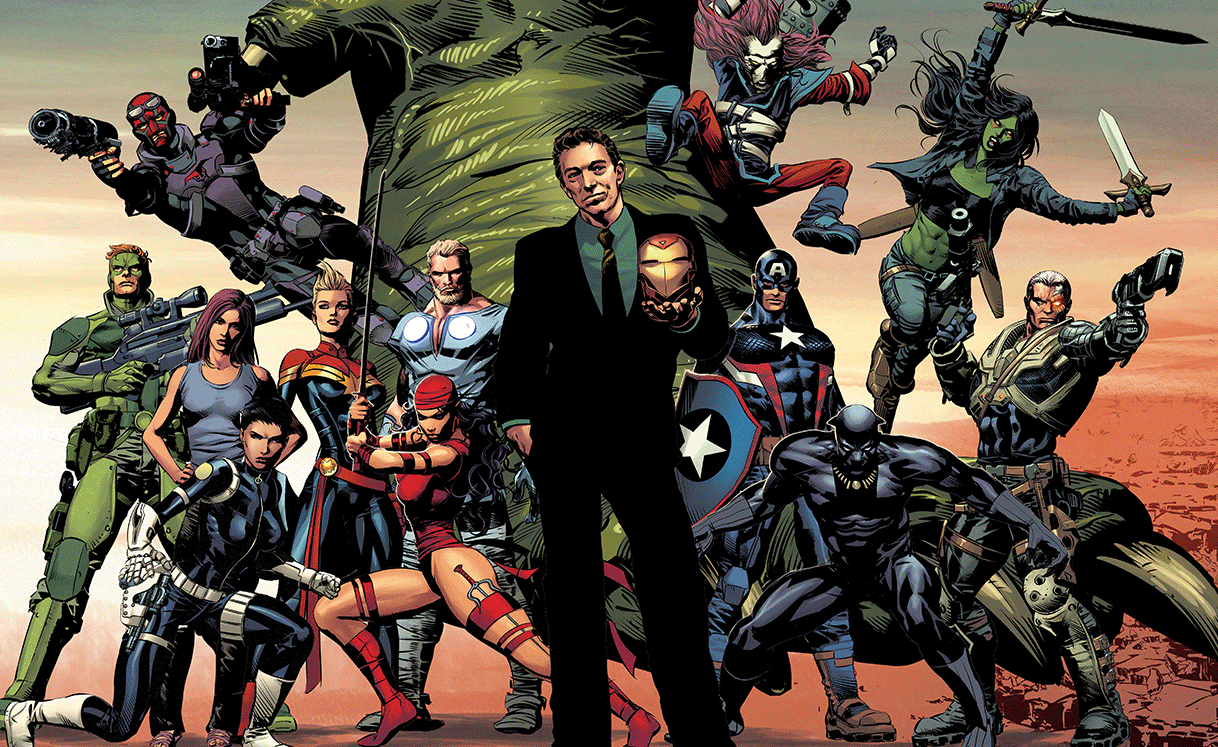 Marvel's DIVIDED WE STAND Promotion