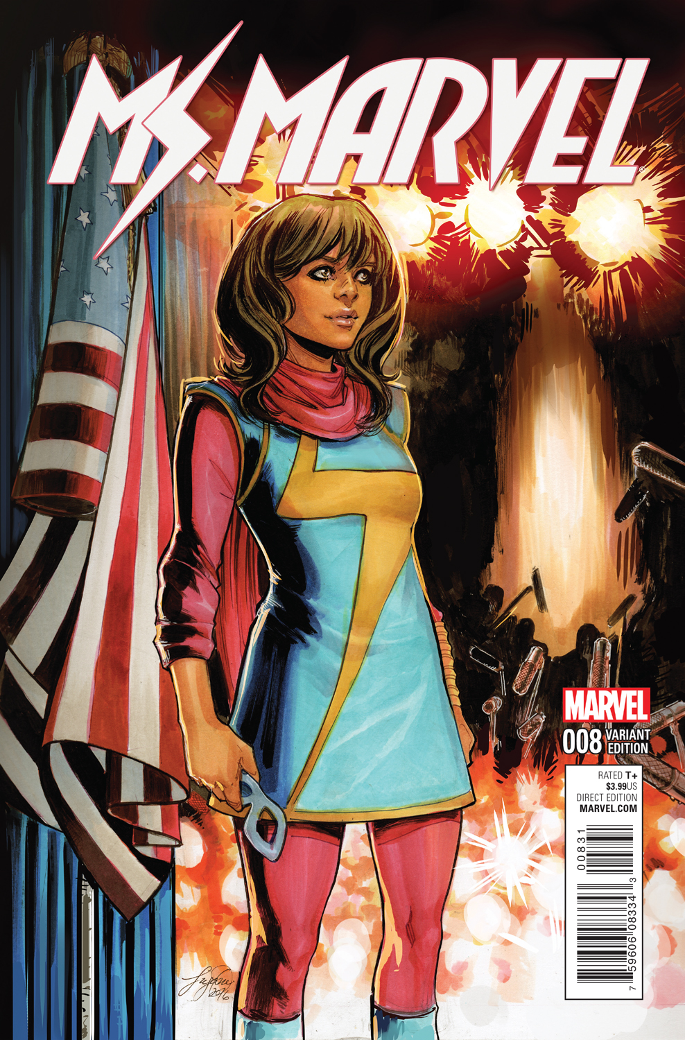 Your First Look at MS. MARVEL #8: Kamala Chooses a Side!