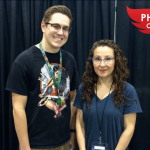 The Source's Richard Morris and Beth Sotelo at PHXCC16