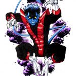 A sketch of Nightcrawler by Todd Nauck!