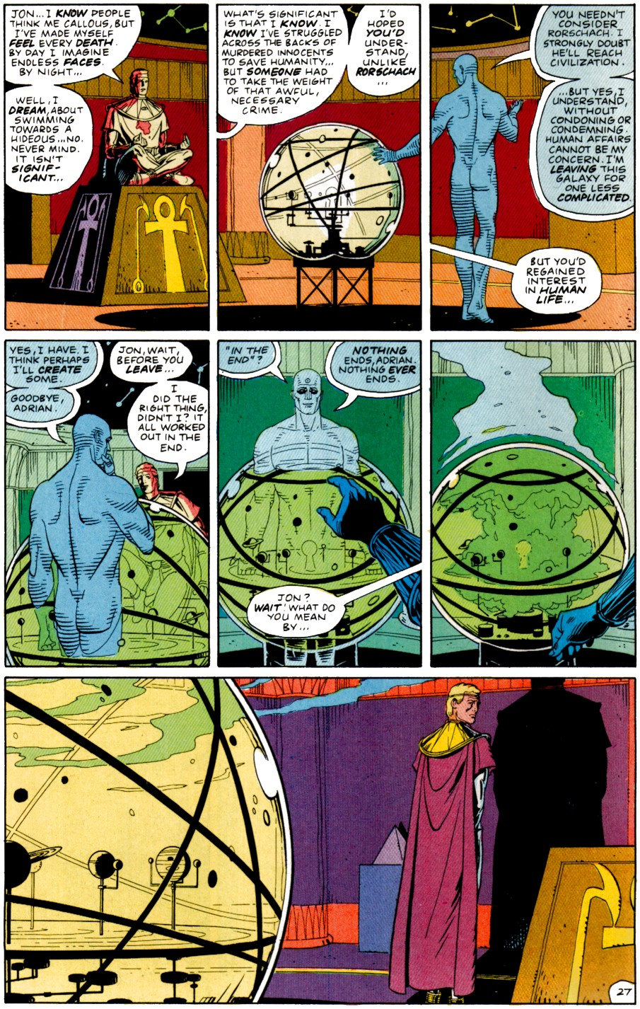 Did Doctor Manhattan Create the DC Universe?