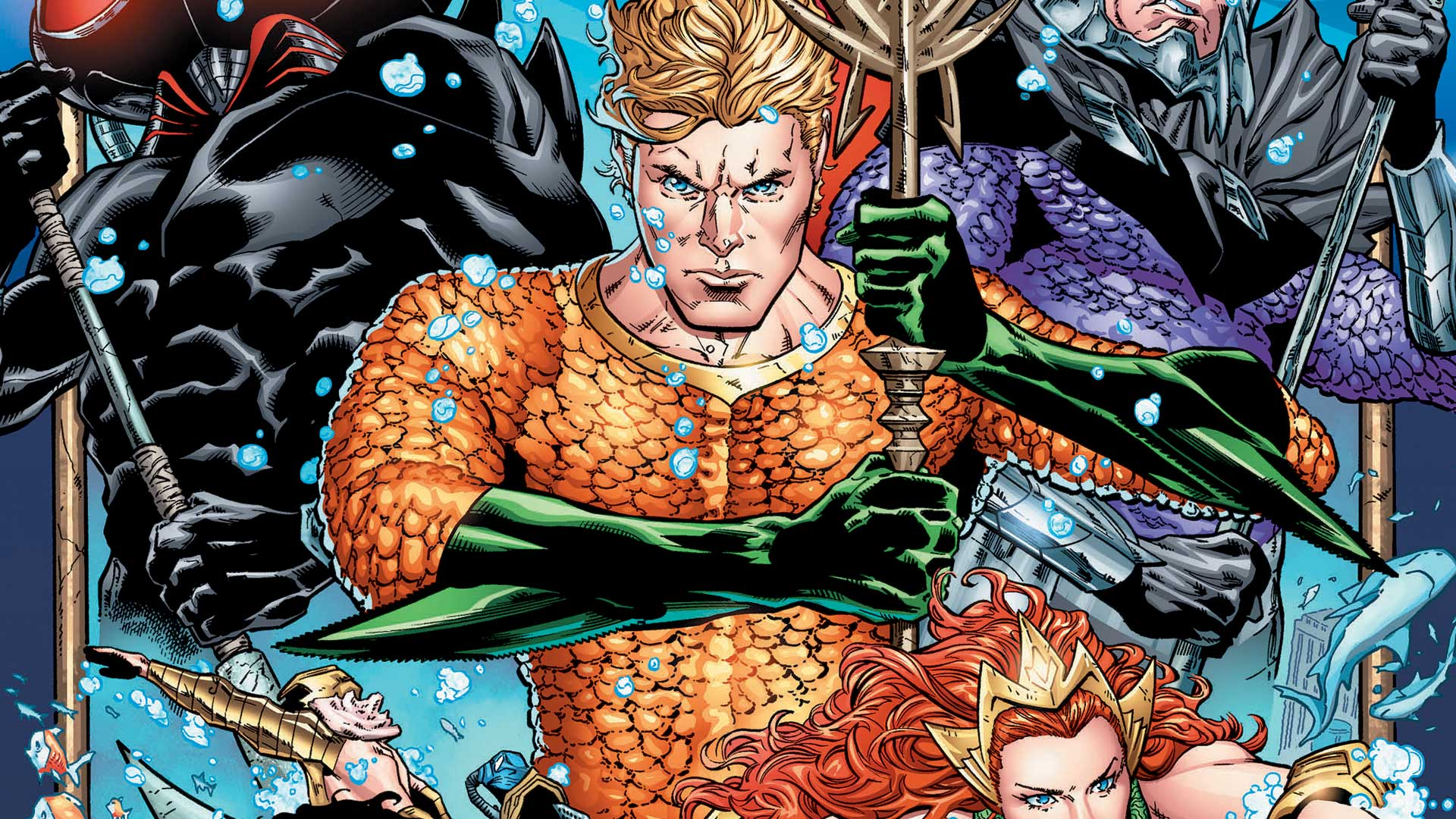 Aquaman #1 Review: The Adventures of Mera (and Aquaman)!