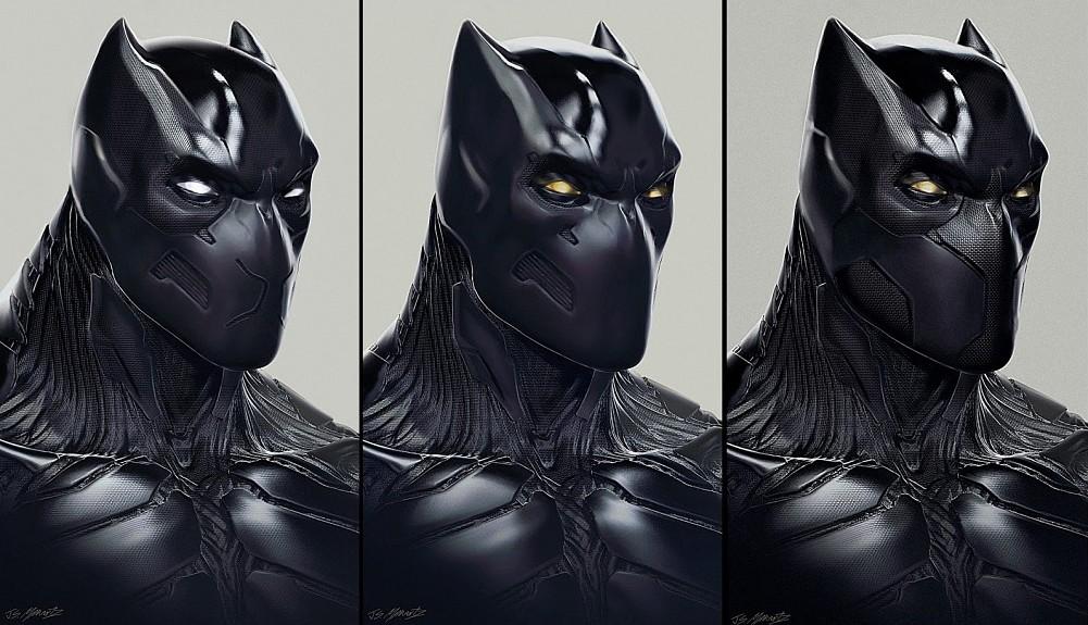Striking Black Panther Concept Art from Captain America: Civil War