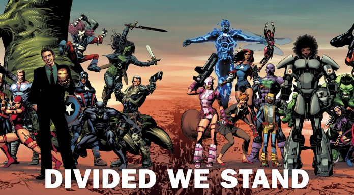 Marvel's DIVIDED WE STAND Promotion Continues