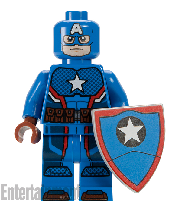 Hydra-Loving Captain America Gets Exclusive LEGO Minifigure!