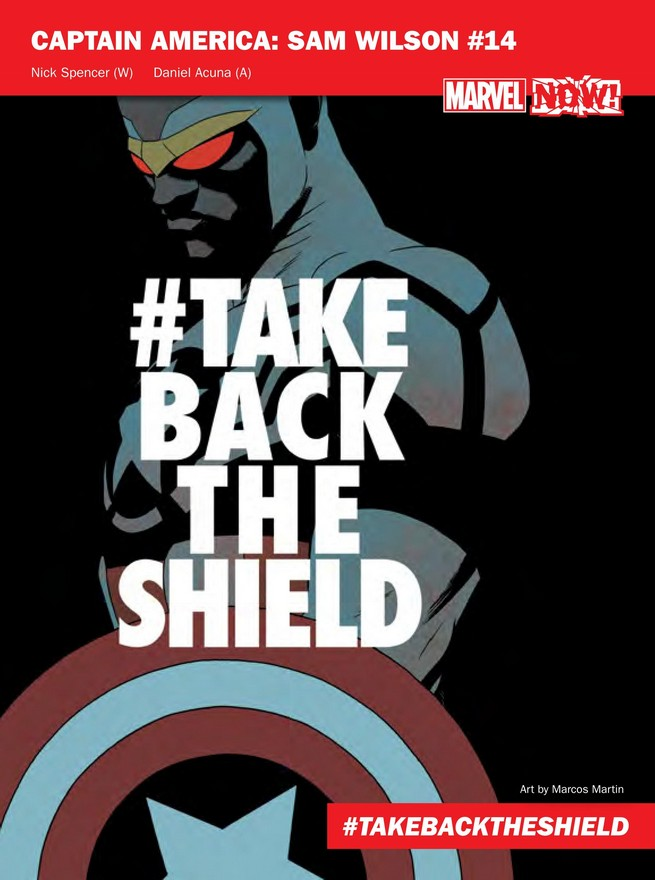 Marvel NOW! Update: The Entire List of Marvel NOW! Titles Revealed!