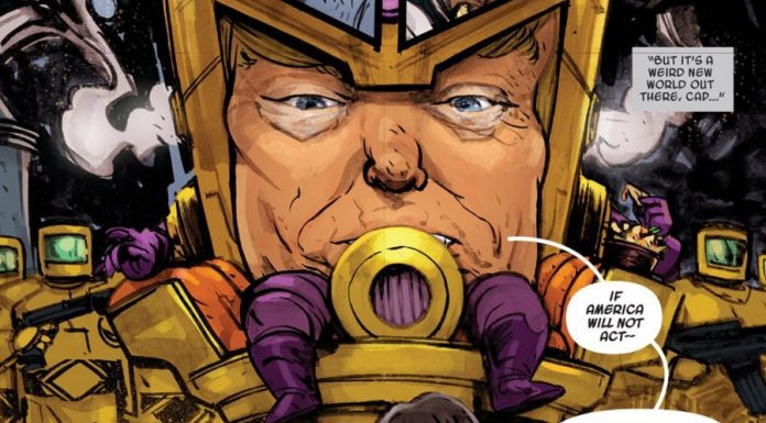 The Trump and M.O.D.O.K. Mashup You Never Knew You Wanted