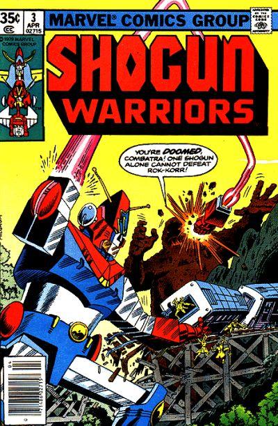 Dear IDW: Bring Back the Shogun Warriors!
