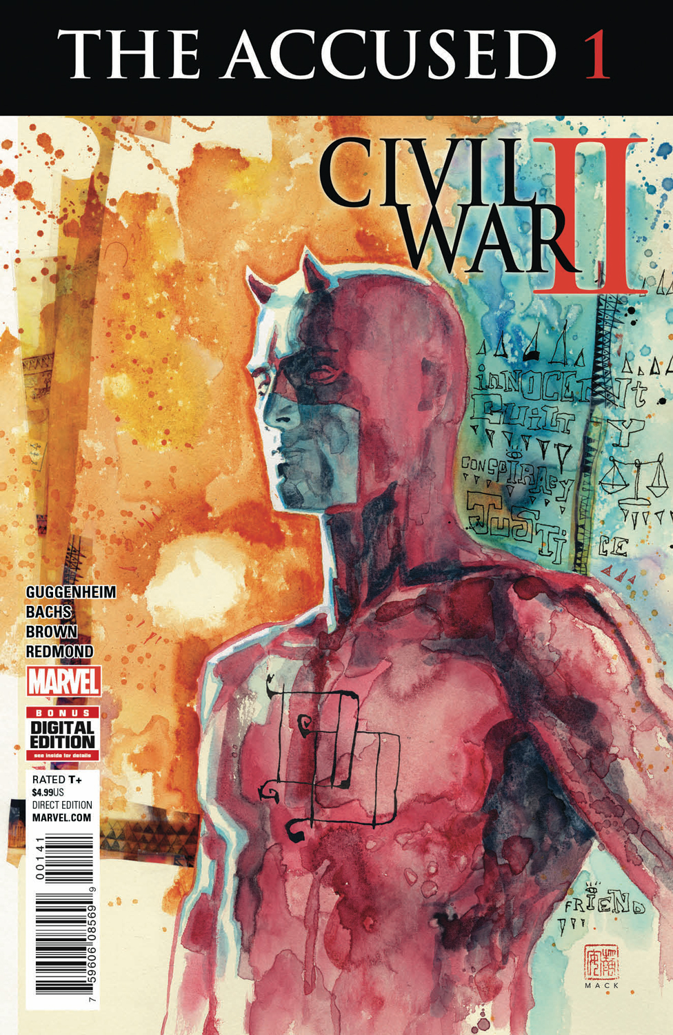 THE FALLEN #1 & THE ACCUSED #1 Explore the Fallout From Civil War II This August!