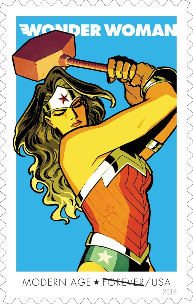 USPS Wonder Woman Modern Age