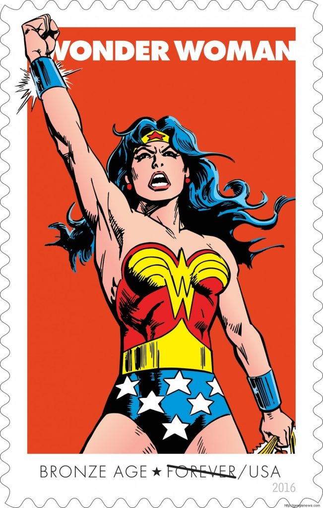The Significance Behind the New Wonder Woman Stamps