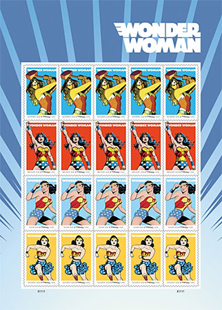 Here they are, the glorious WW stamps!