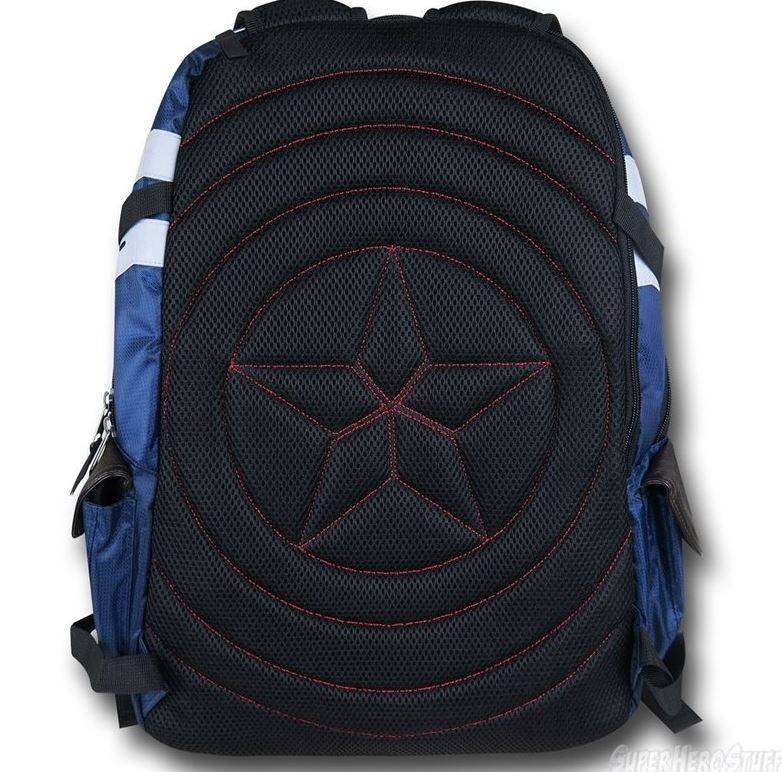 It's the Captain America Civil War Cap Laptop Backpack!
