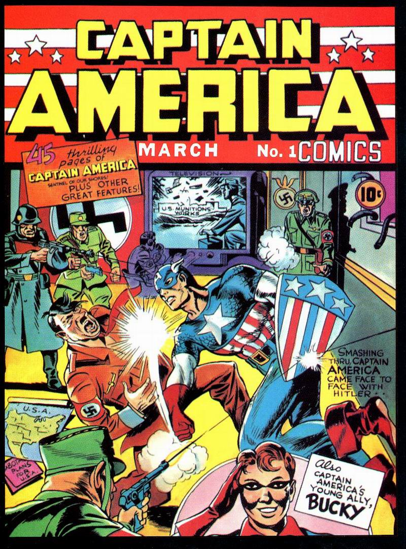 This History of Captain America: Marvel's Hitler-Punching Sentinel of Liberty!