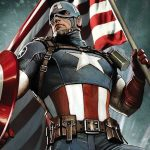 Our First Look at the 13-Foot Captain America Bronze Statue