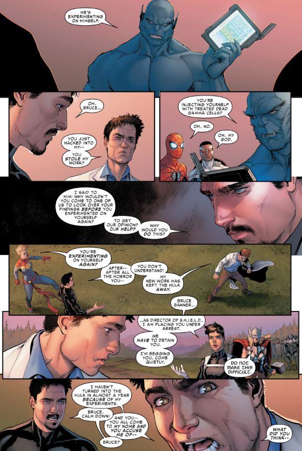 Civil War II #3: NO THEY DIDN'T!!!