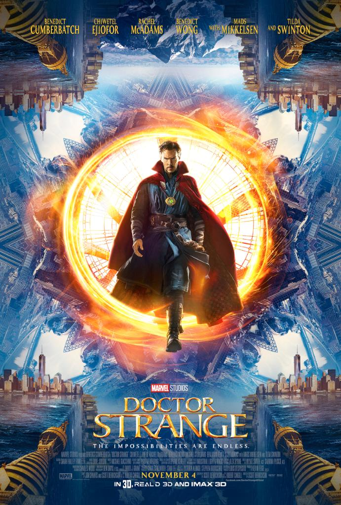 SDCC 2016 Doctor Strange Trailer and Poster!