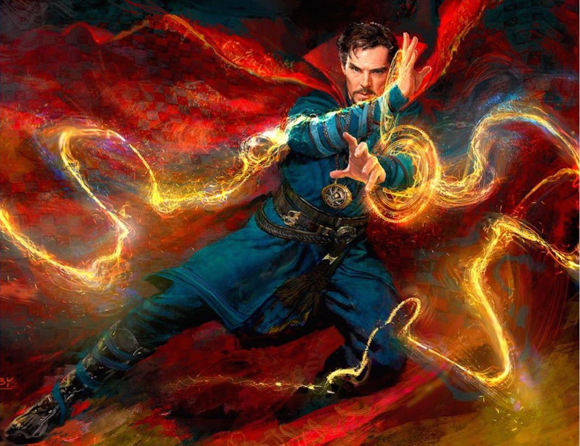 Doctor Strange Wields Supreme Power in New Doctor Strange Concept Art
