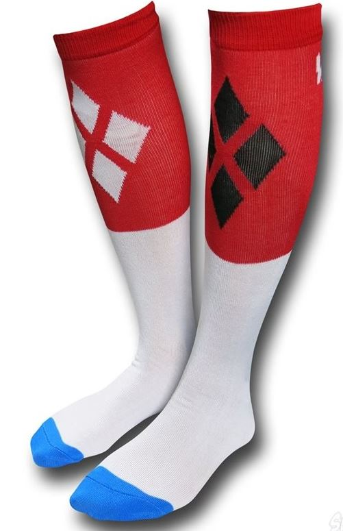 Our EXCLUSIVE Suicide Squad Harley Quinn Bad Guys Socks