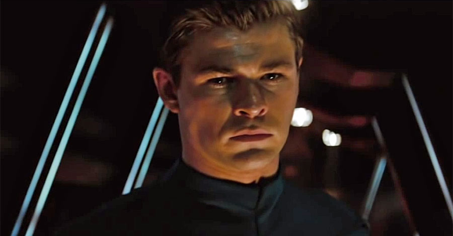Image result for chris hemsworth star trek