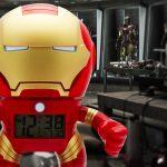 Check out the Iron Man Bulb Botz Clock!