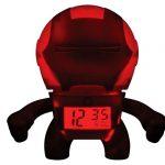 iron man clock glows
