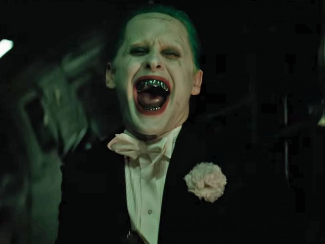 Suicide Squad's Jared Leto Shares Disturbing Joker Selfie on Set