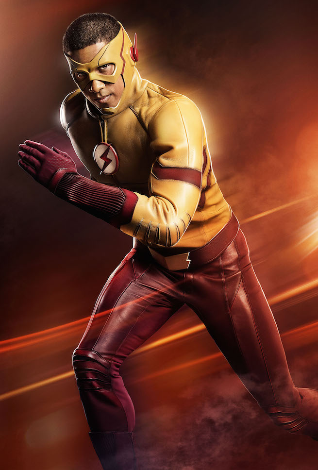 First Look at Kid Flash in Costume!