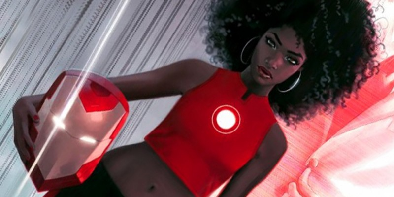 Meet the New Iron Man (Woman?)