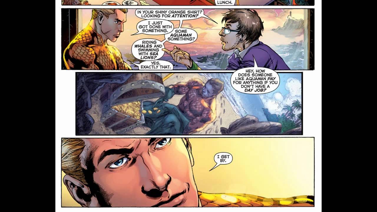 Top 5 Most Ridiculous Aquaman Moments in Comics