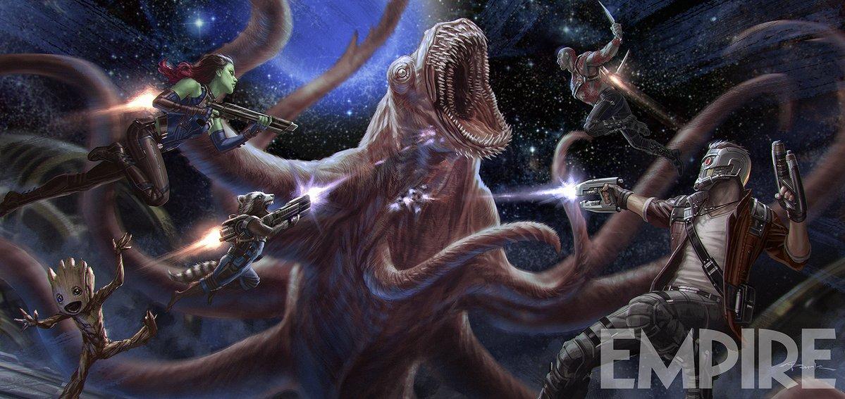 James Gunn Shares New Guardians of the Galaxy Vol. 2 Concept Art!