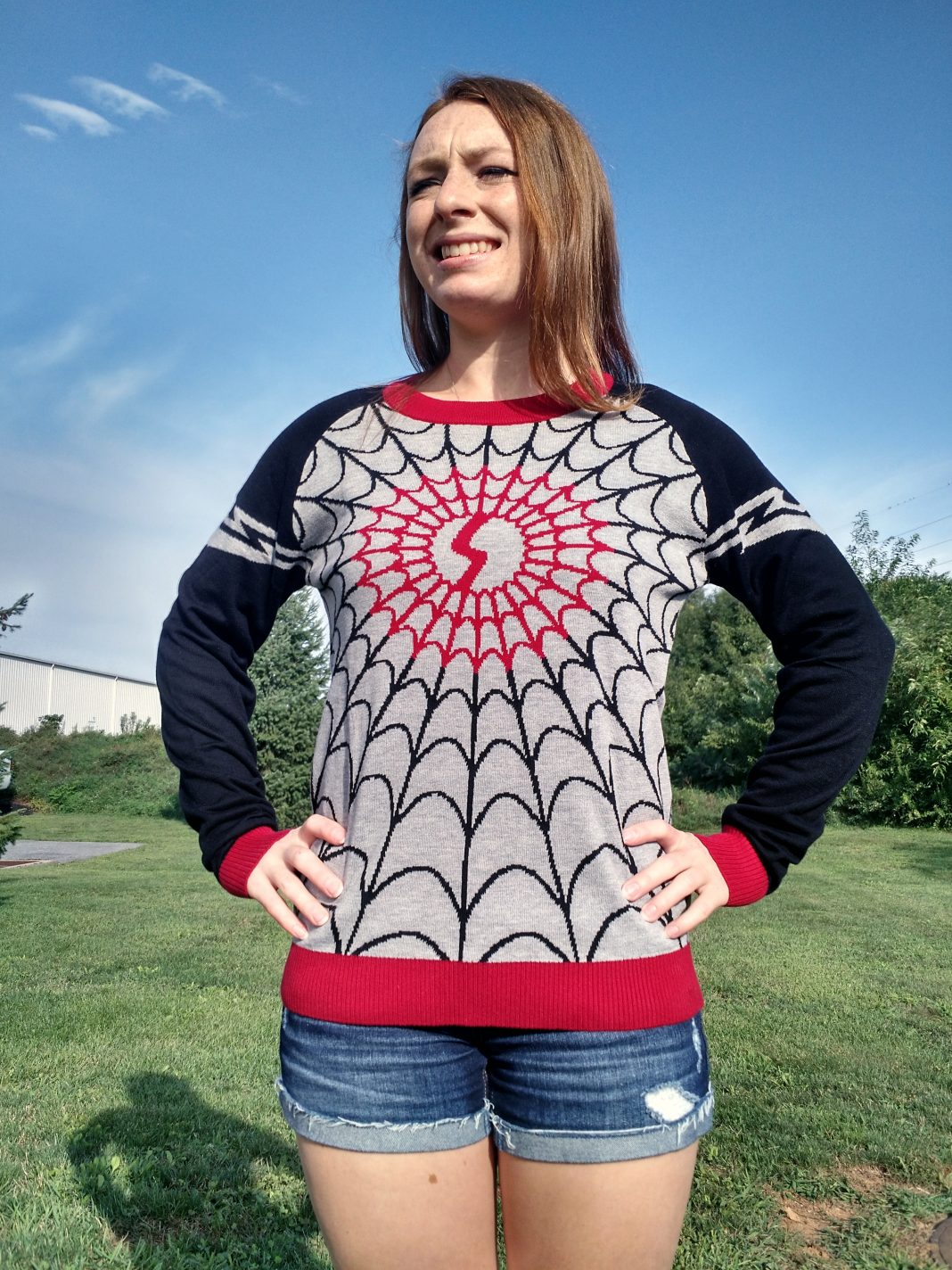 It's the I Am Silk Women's Costume Knit Sweater!