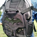 It's the Batman Symbol Two-Tone Built Backpack