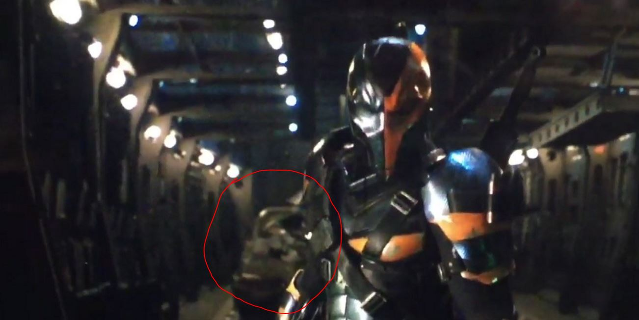 It Seems the Deathstroke Teaser was Filmed on Batman's Flying Fox!