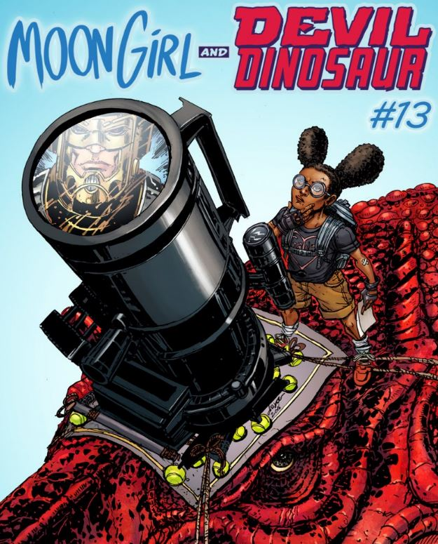 S (science) – MOON GIRL & DEVIL DINOSAUR #13 by Joyce Chin