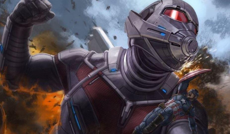 It's Giant-Man vs. Captain America in New Civil War Concept Art!