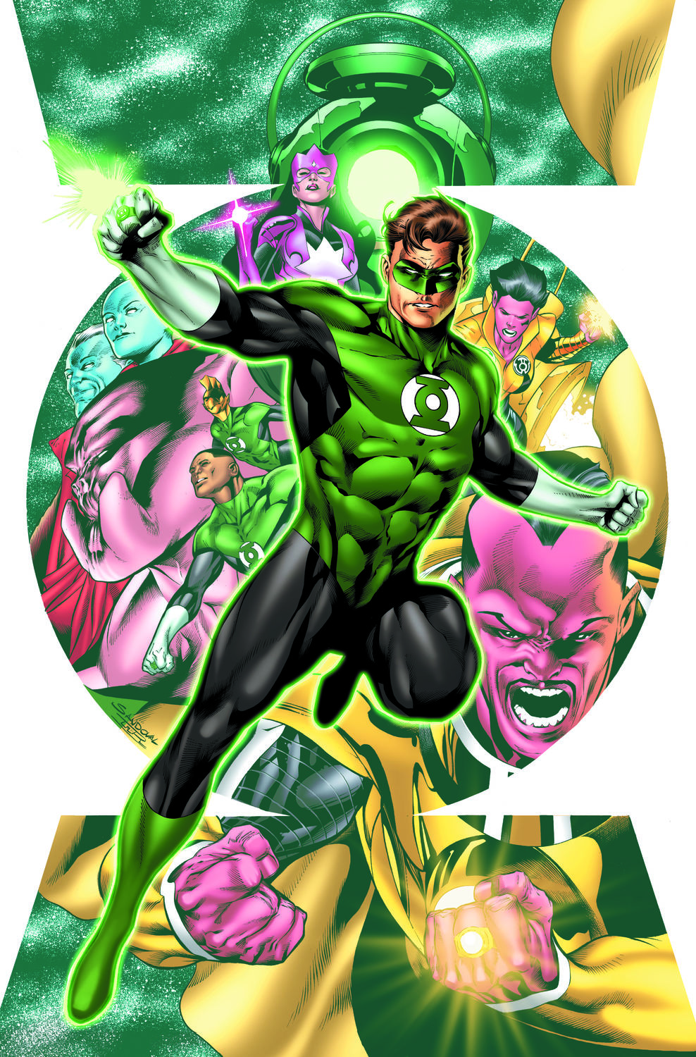 Hal Jordan and the Green Lantern Corps #1 Review