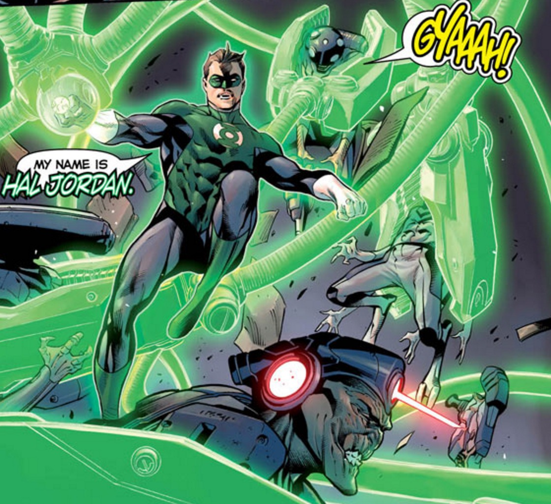 Hal Jordan and the Green Lantern Corps #1Review