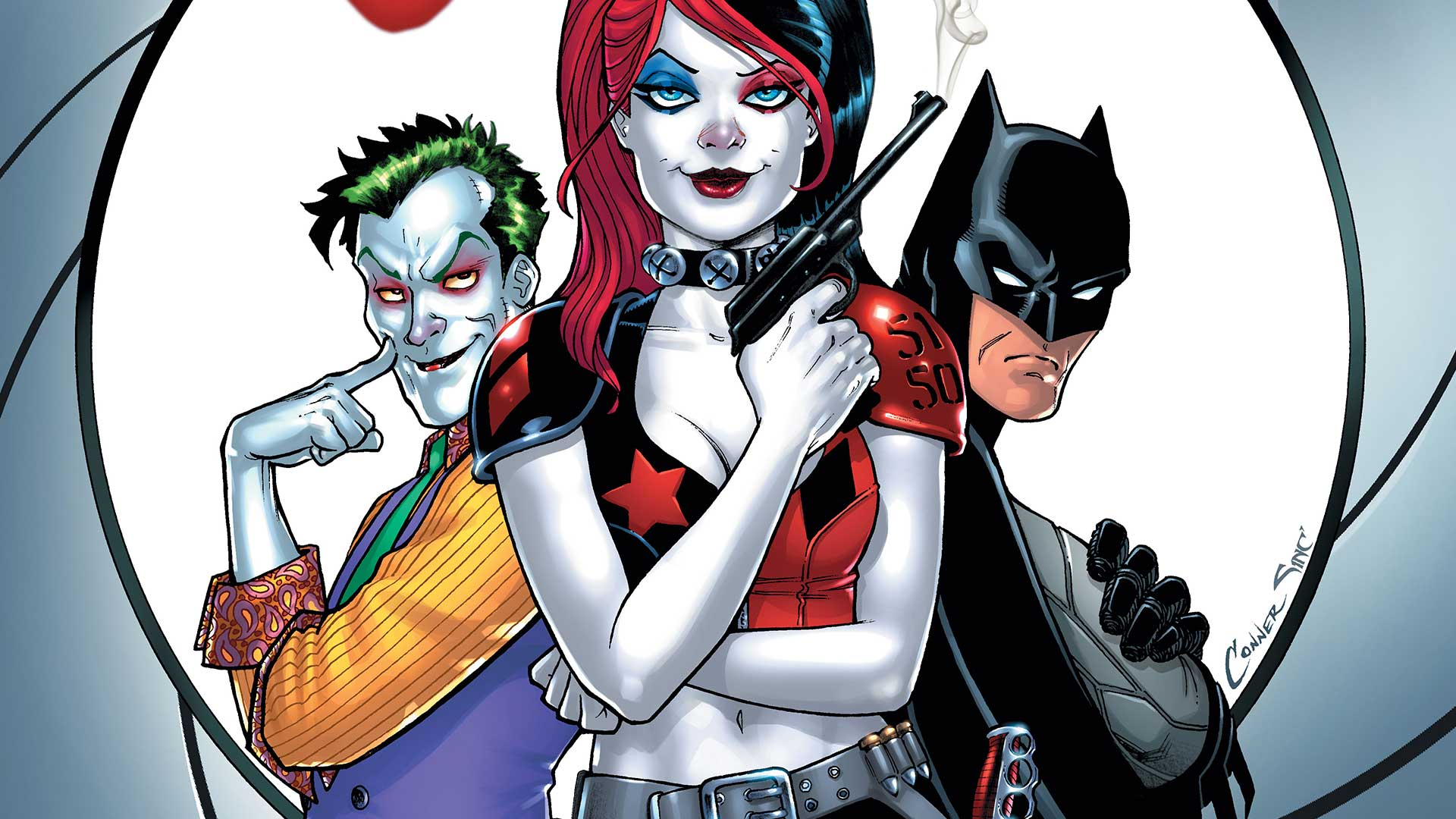Did Gotham Already Reveal Harley Quinn on marvel superhero hats