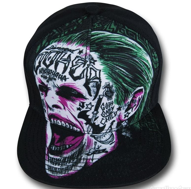 Suicide Squad Hats for Those Whose Craniums Survived Remote Detonation!