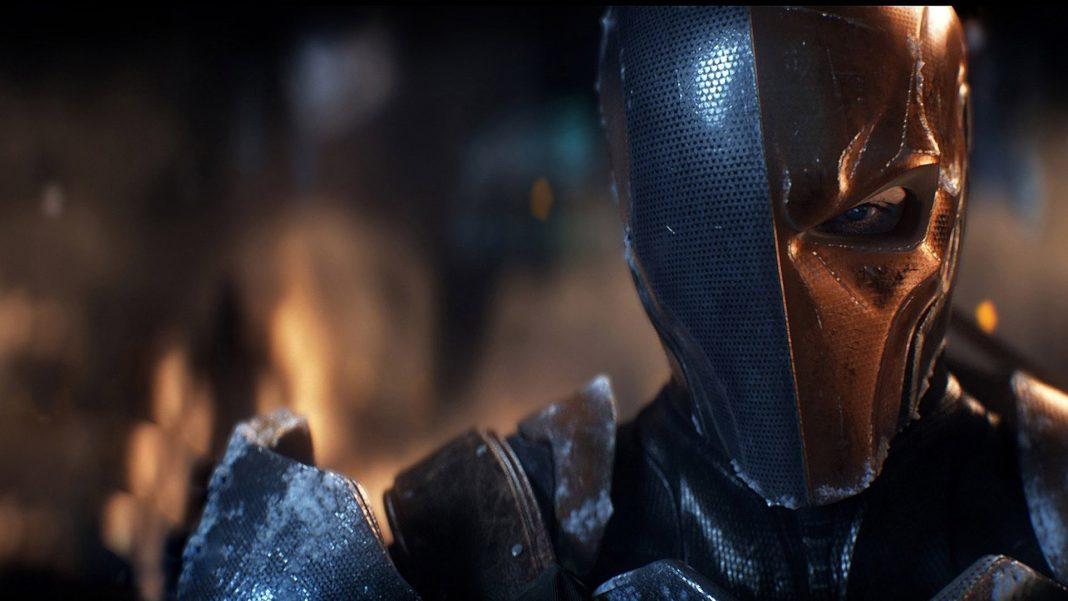 Ben Affleck Teases Deathstroke