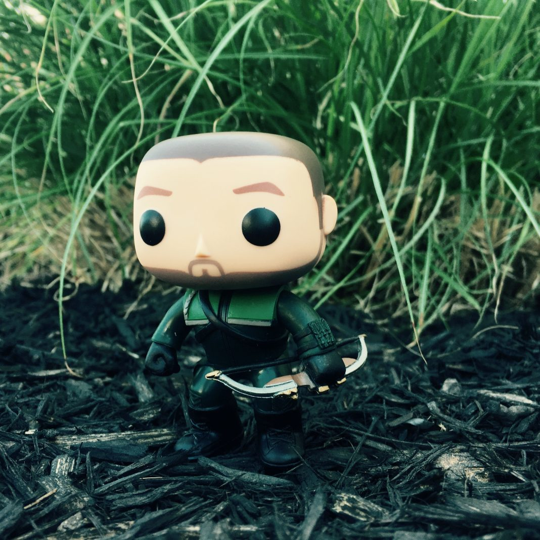 It's the Arrow Oliver Queen Pop Vinyl Figure!
