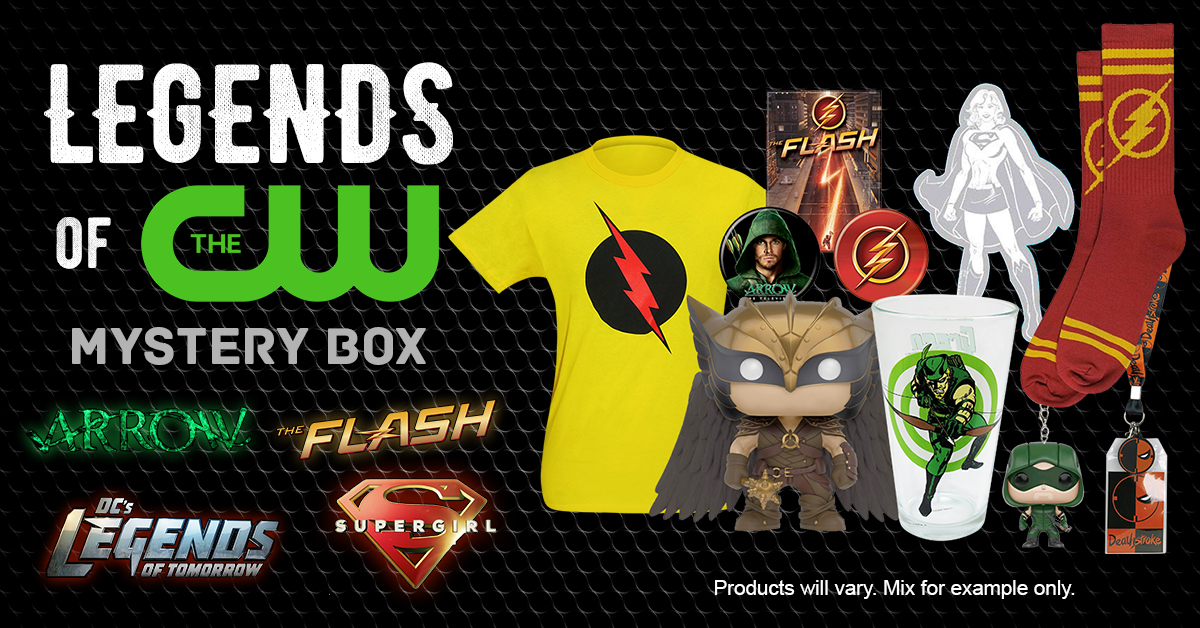 It's Our Legends of The CW HeroBox!