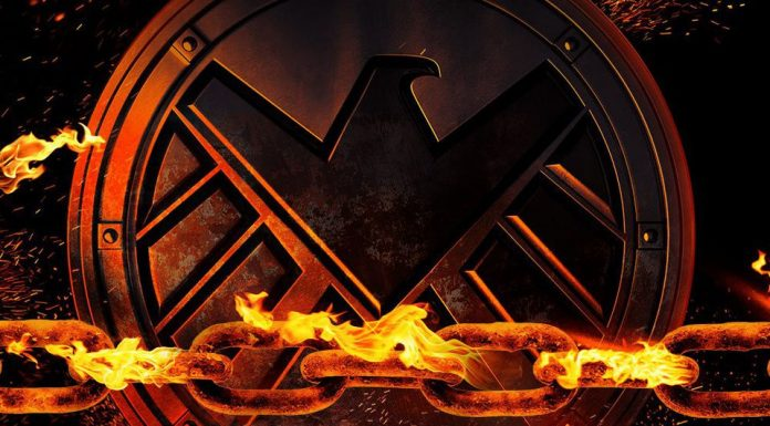 new Ghost Rider footage from Agents of SHIELD