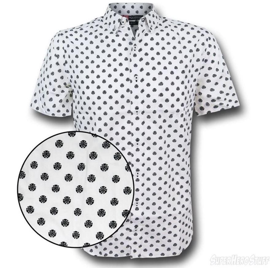 It's the Iron Man Arc Reactor Men's Button Down Shirt!
