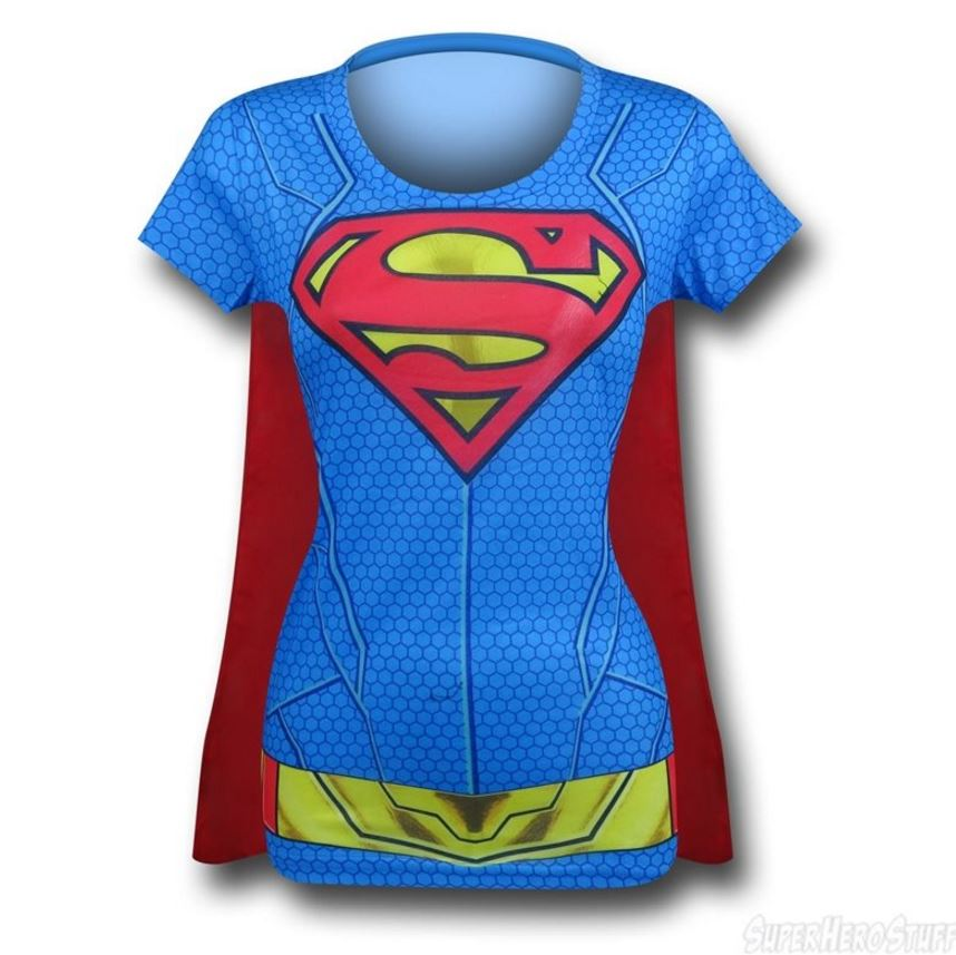 It's the Supergirl Suit Up Women's Costume T-Shirt!
