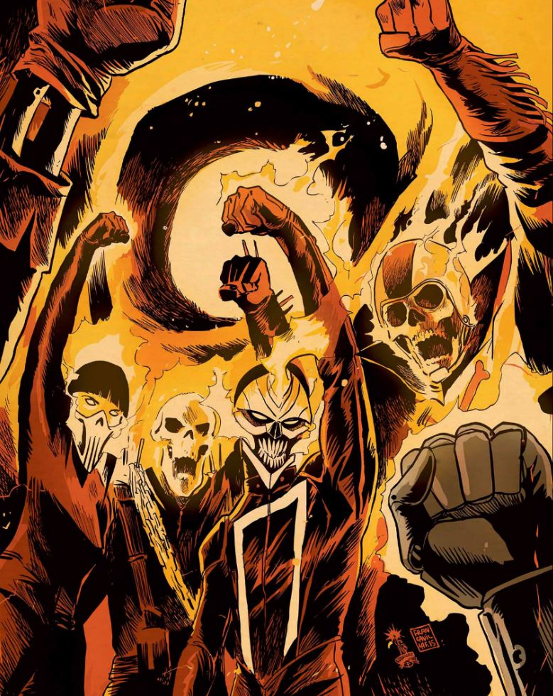 Ghost Riders: The History of Marvel's Several Spirits of Vengeance!